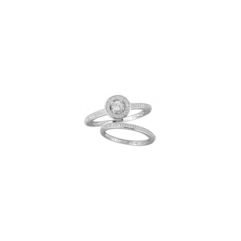 14KT DIAMOND RING WITH 0.33CARAT DIAMONDS