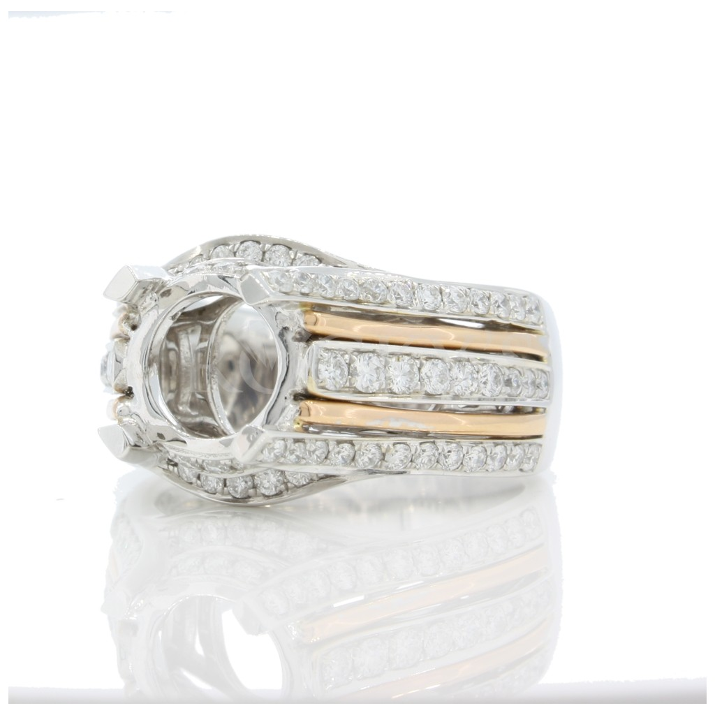 Engagement Ring with 0.91 Carats