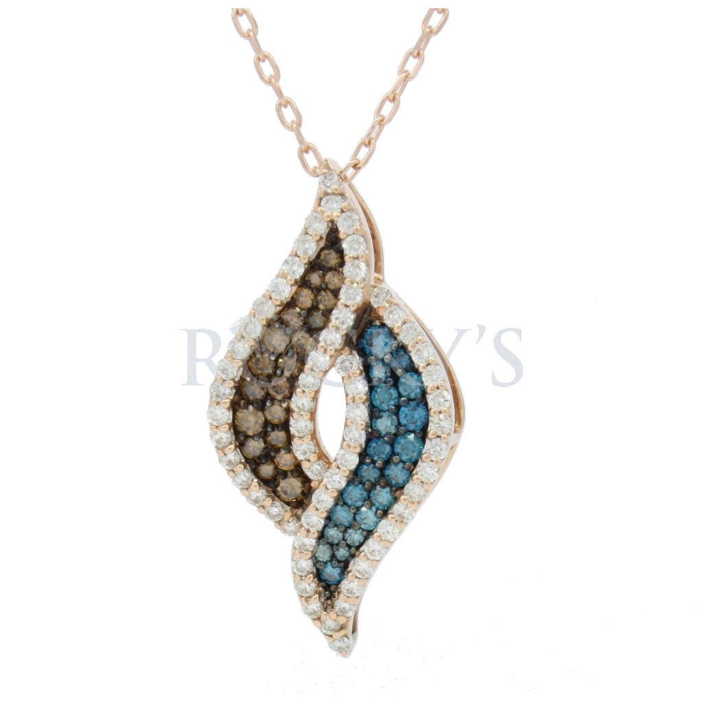Multi Color Diamond Necklace