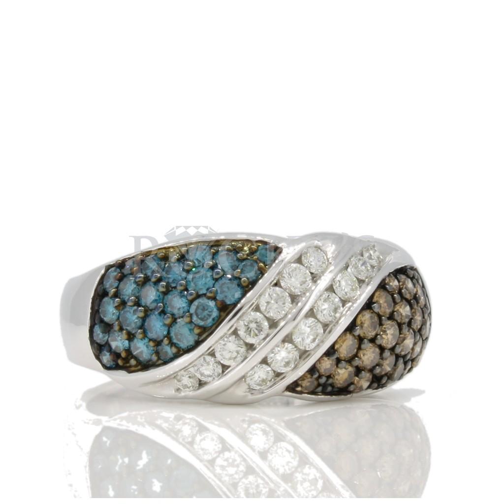 Multi Color diamond Ring 1 carat