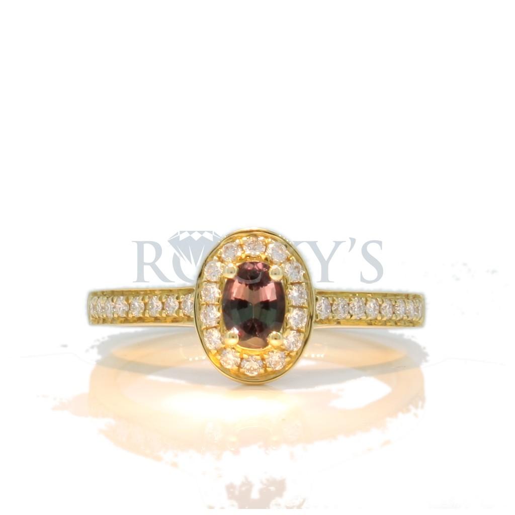 Alexandrite ring .57 carat