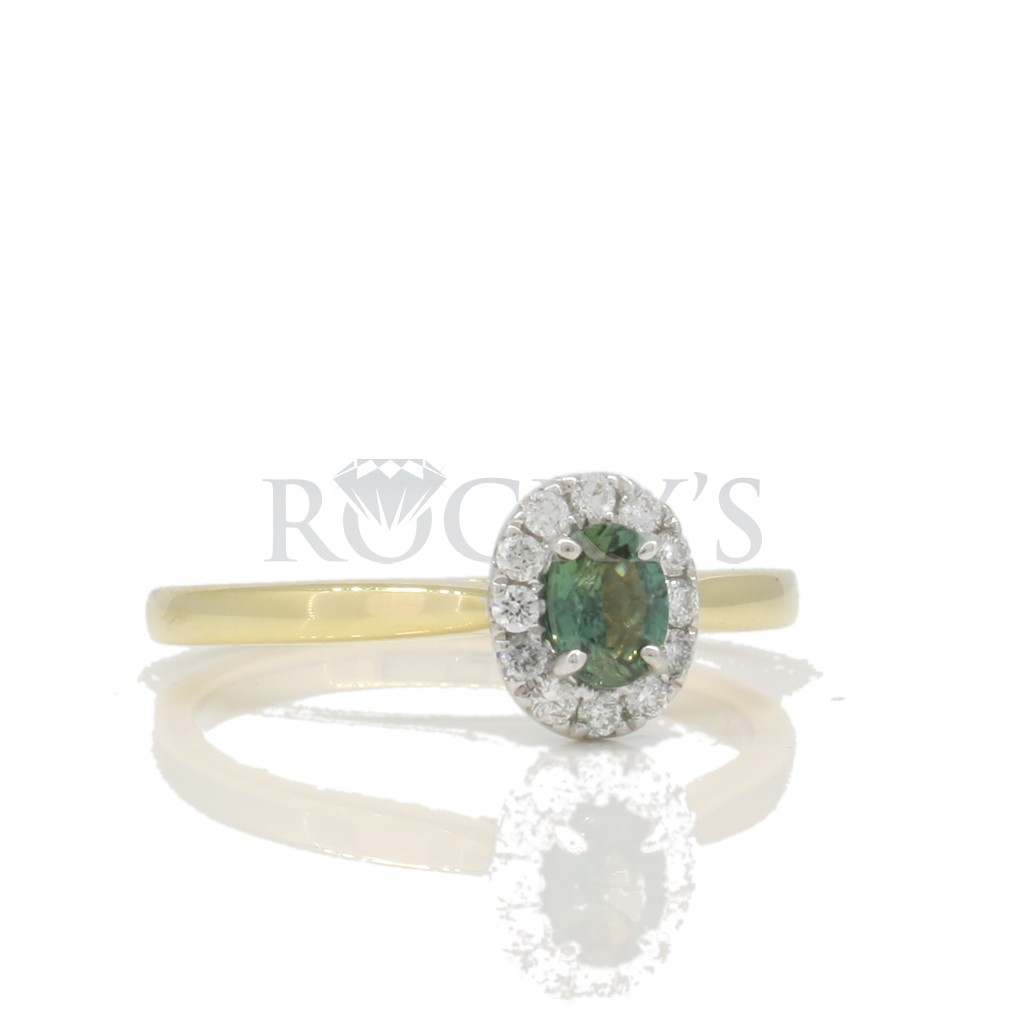 Alexandrite ring .41 carat