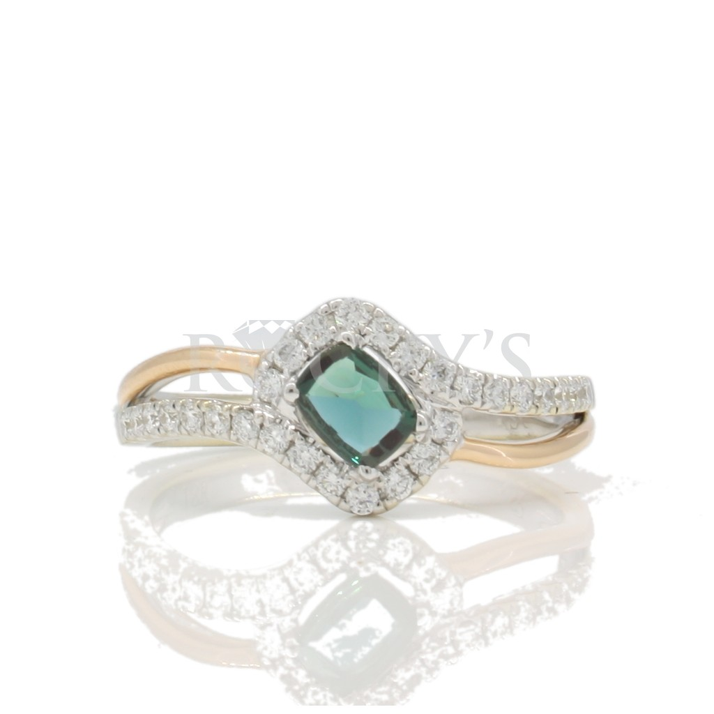 Alexandrite ring .47 carat