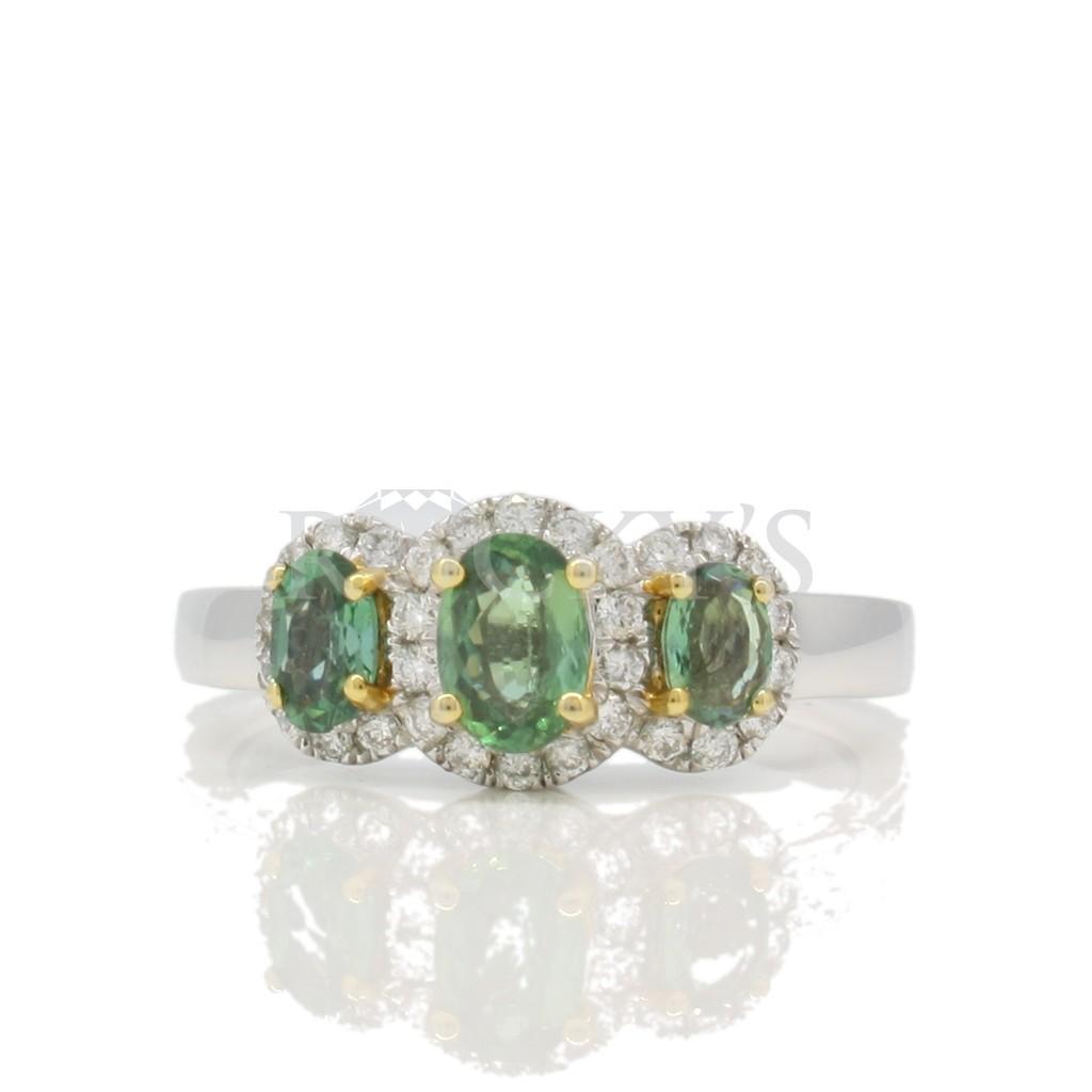 Alexandrite ring 1.12 carat