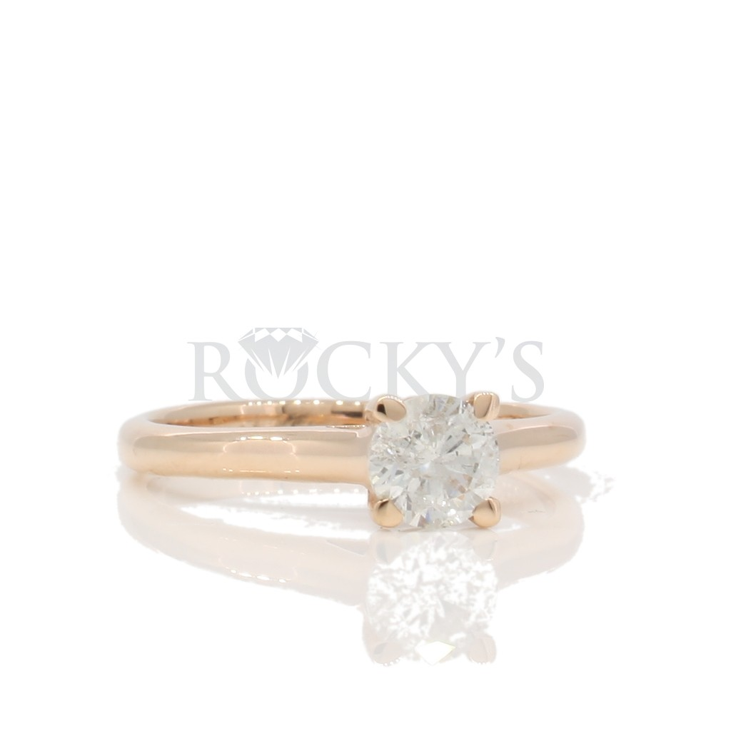 Engagement Ring with 0.58 Carats
