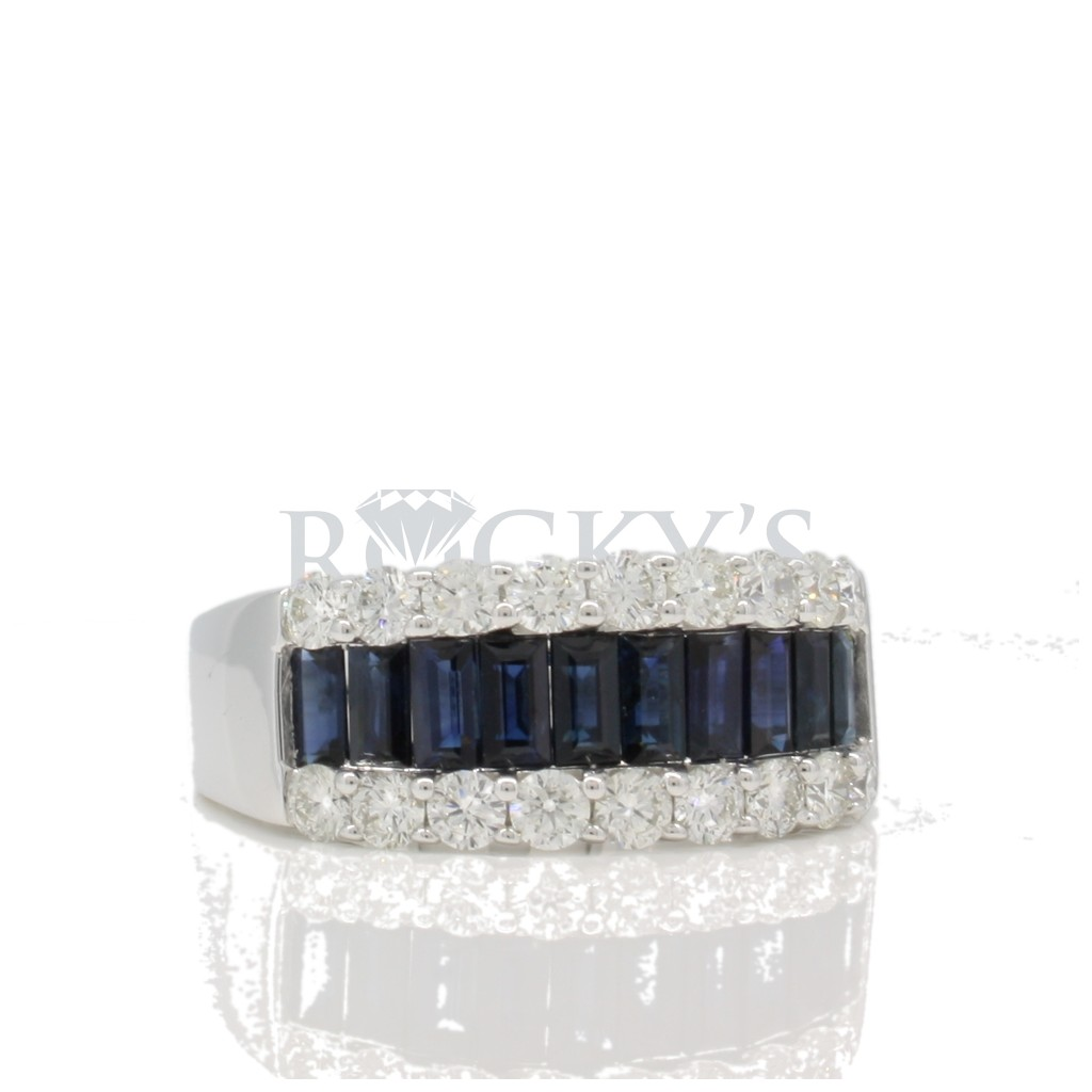 Sapphire Ring with 2.64 Carats