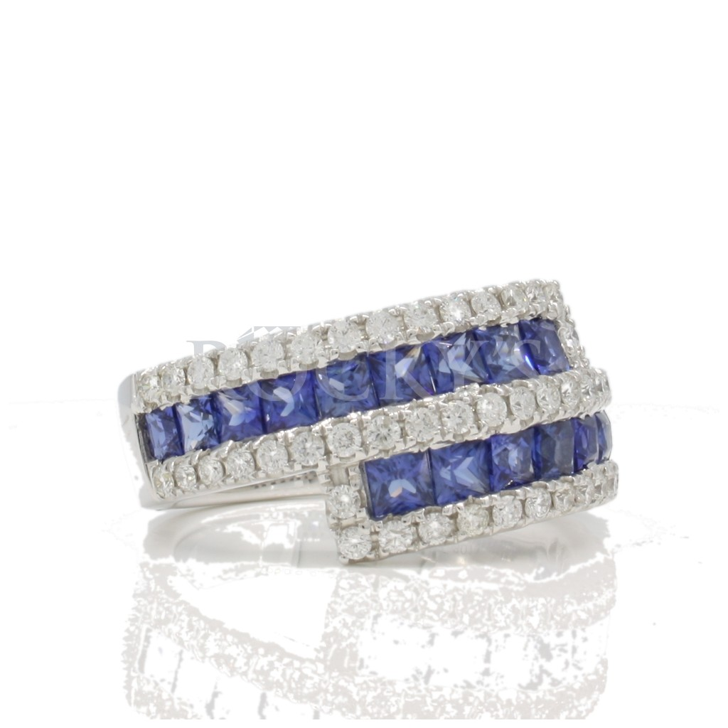 Sapphire Ring with 2.92 Carats