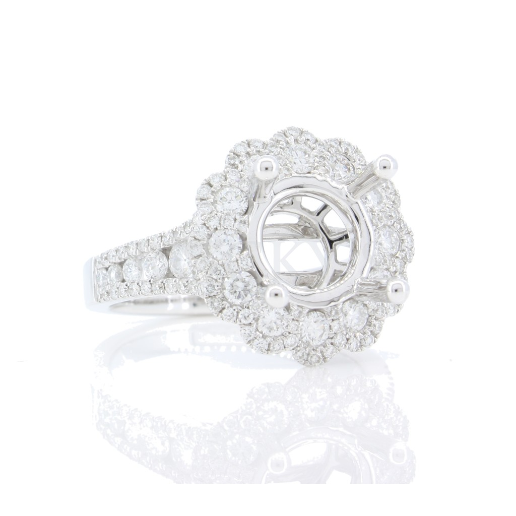 Engagement Ring  with 1.19 carat