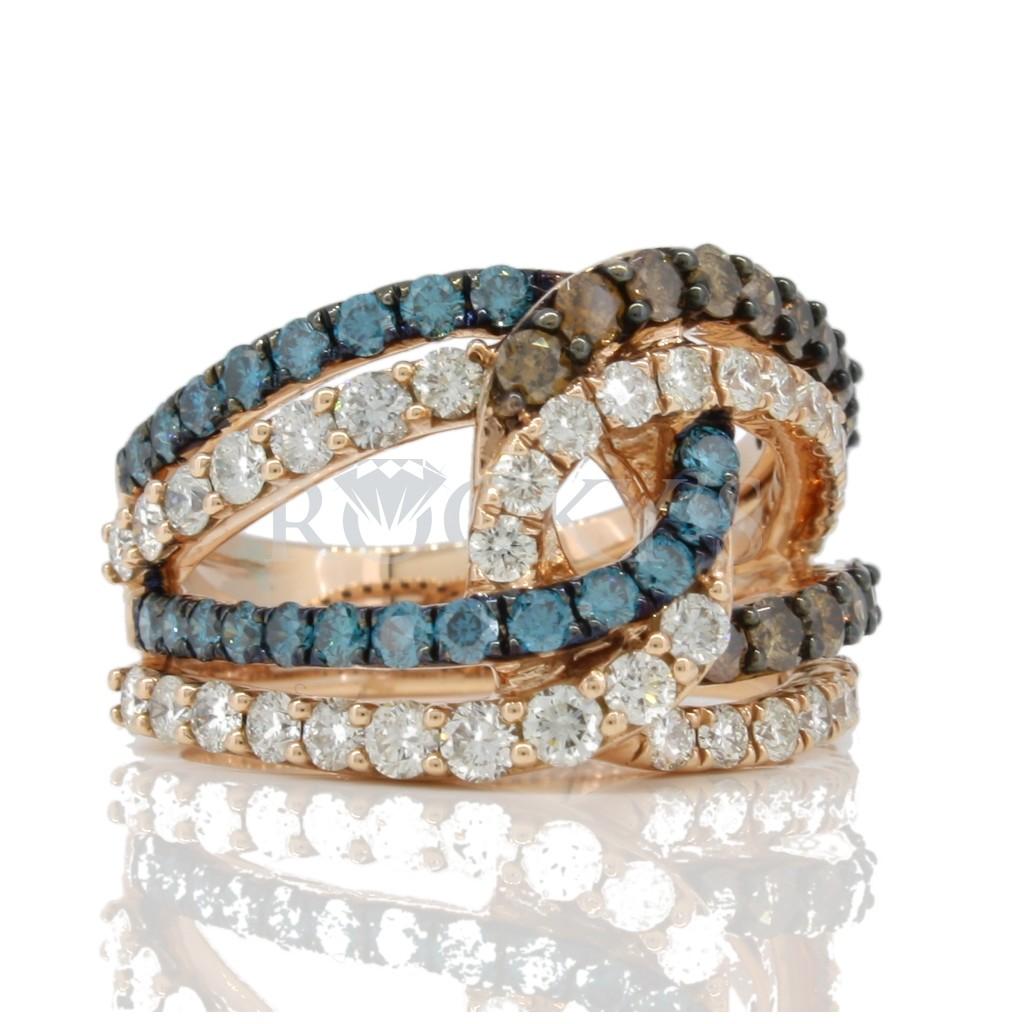 Diamond ring with 1.28 carat