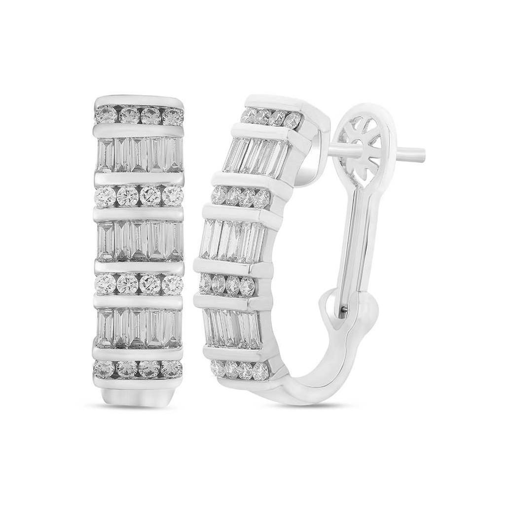 Diamond earring with 1.33 carat