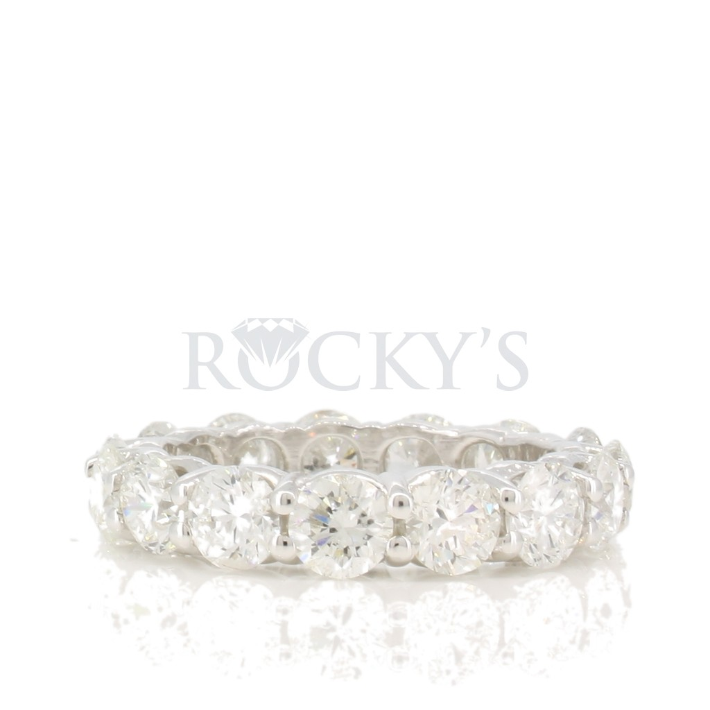 Diamond Eternity Band with 4.75 Carats