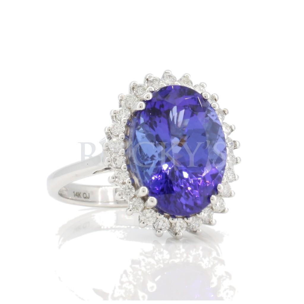 Tanzanite Ring with 6.20 carat