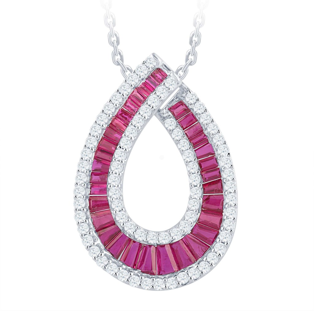 Ruby Pendant with 3.30 Carats