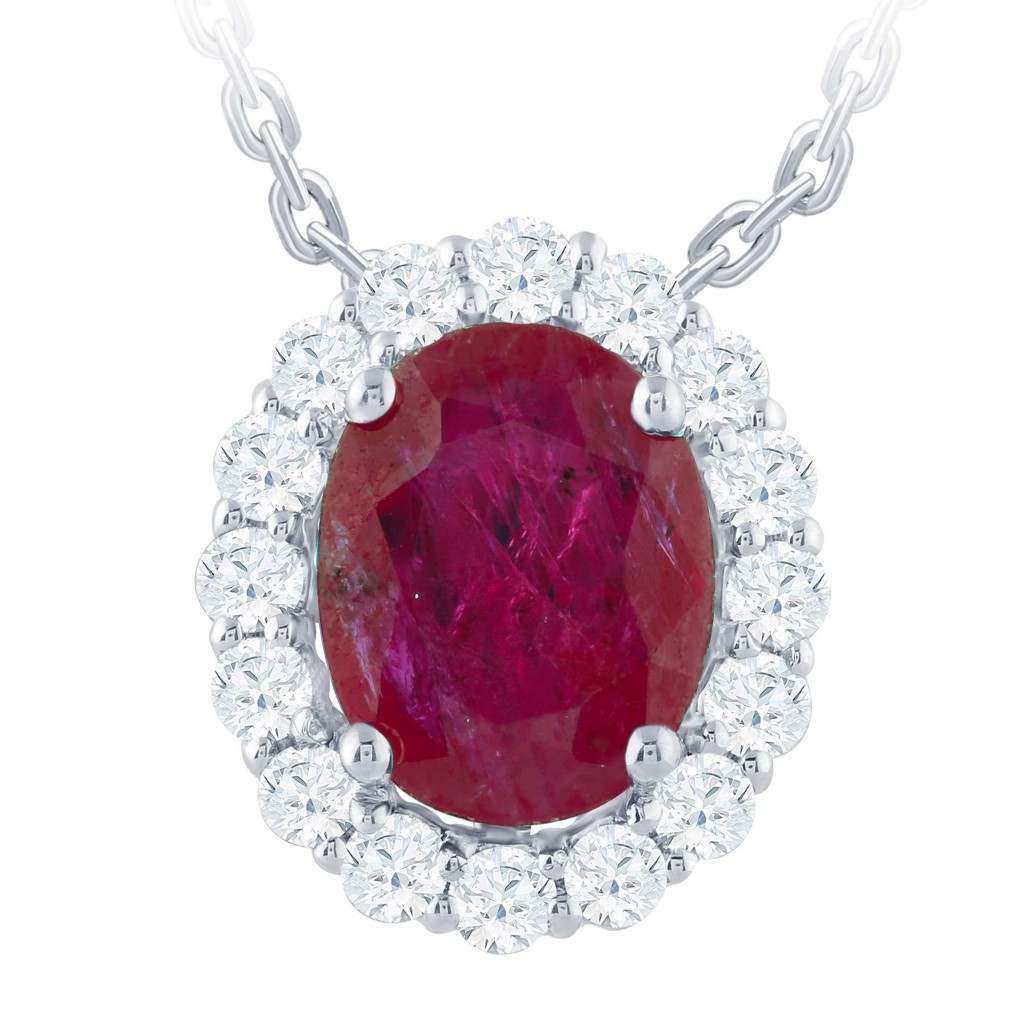 Ruby Pendent with 2.15 Carat