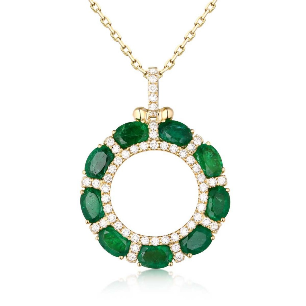 Emerald Pendant with 4.53 Carats