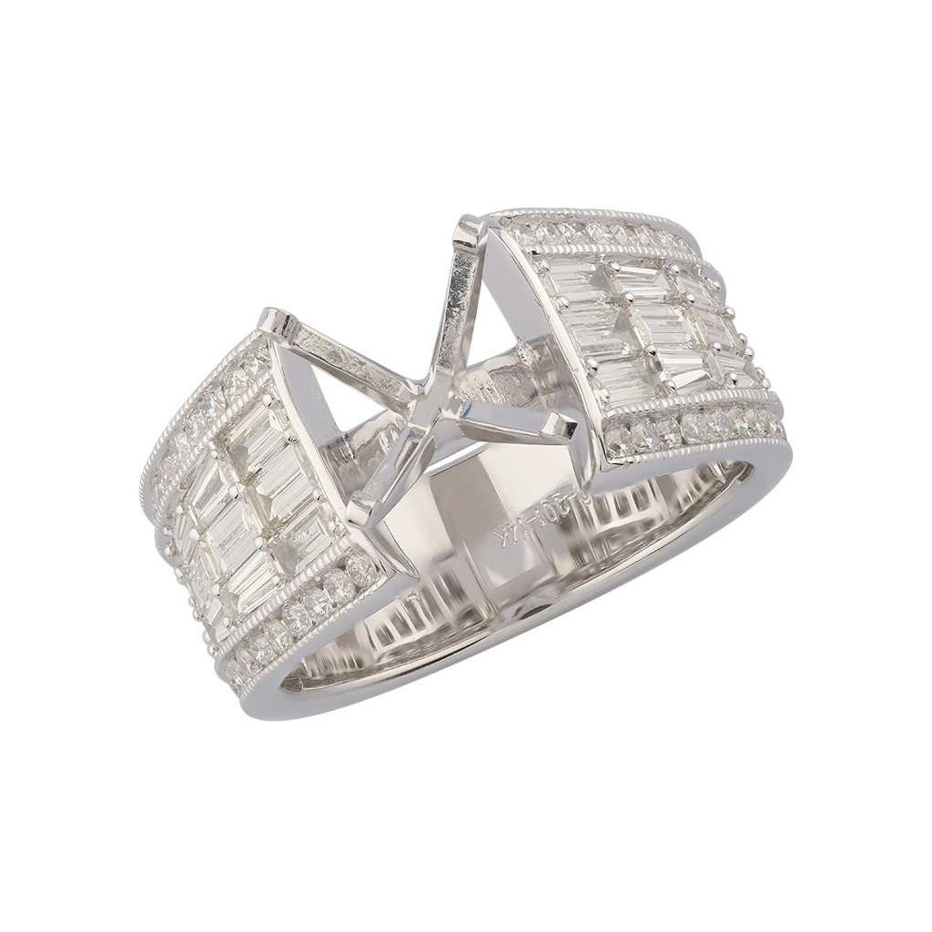 Baguette Diamond ring with 1.54 carat
