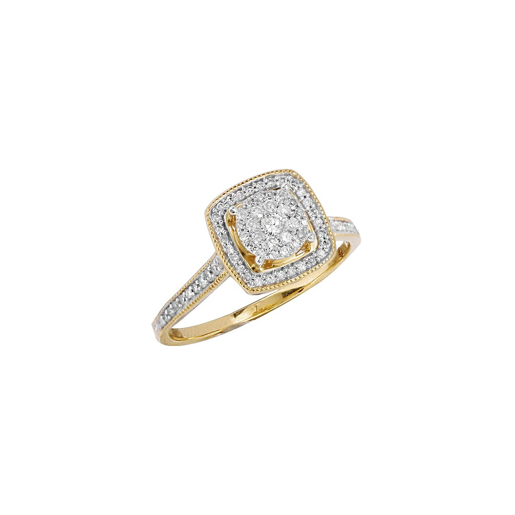Engagement Ring with 0.33 Carats