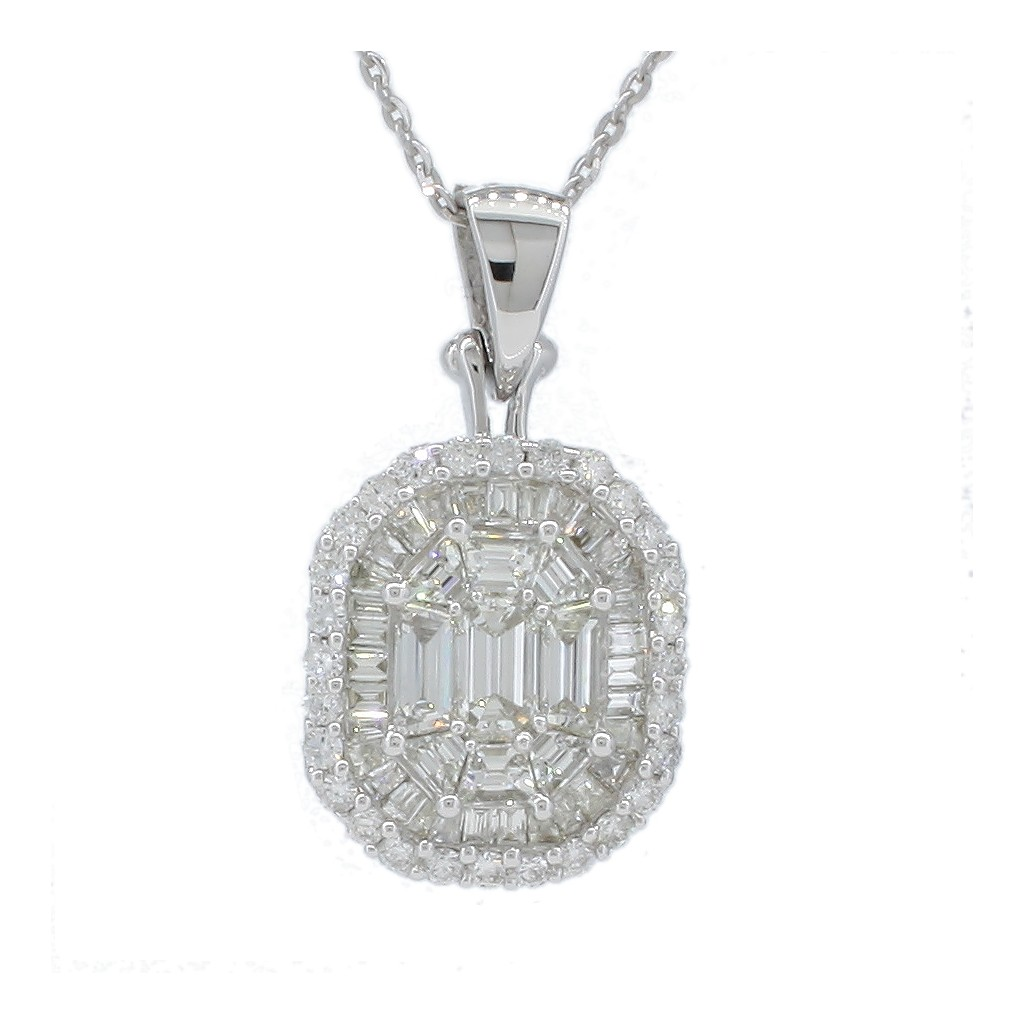 Diamond Pendent with 1.27 Carats