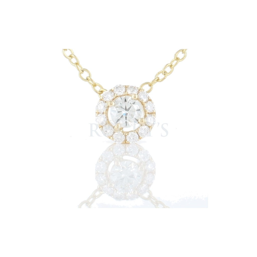Diamond Pendent with 0.60 Carats