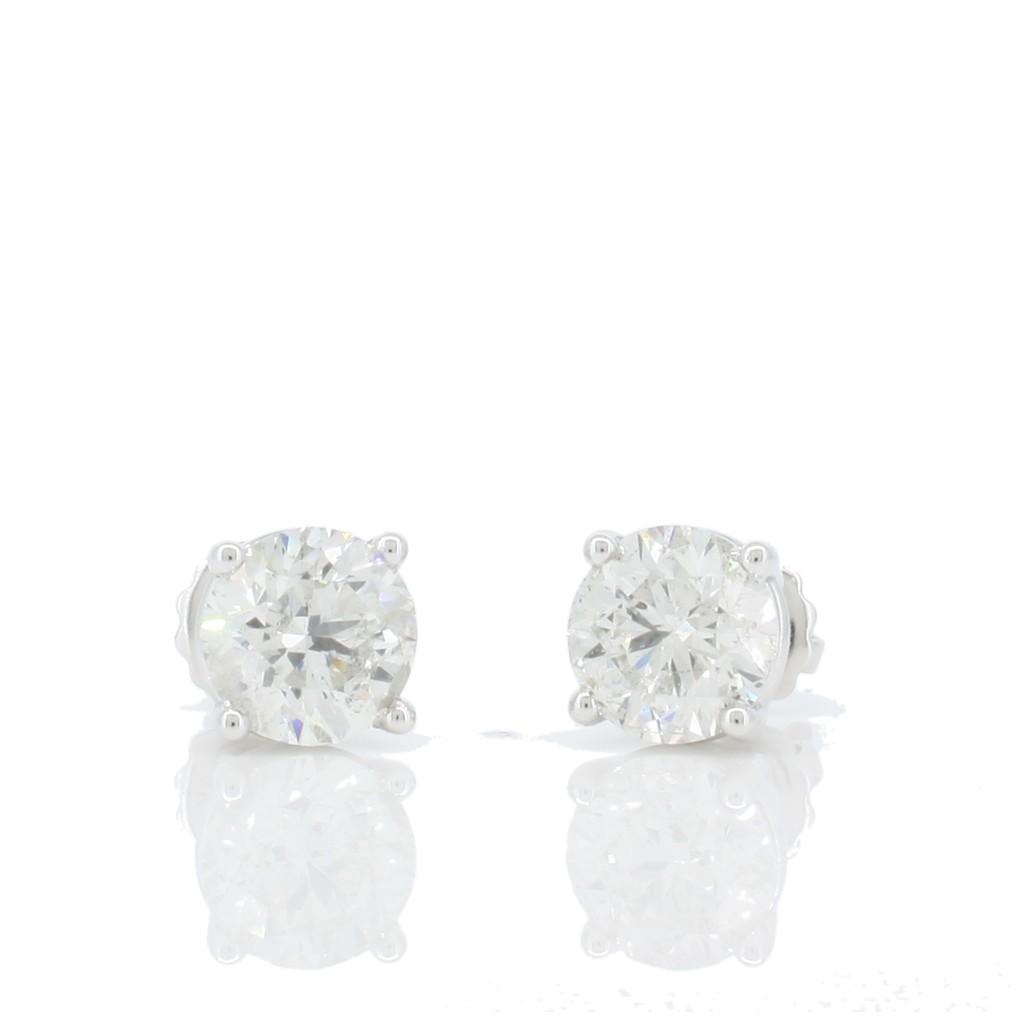 Diamond Studs with 4.00 Carats