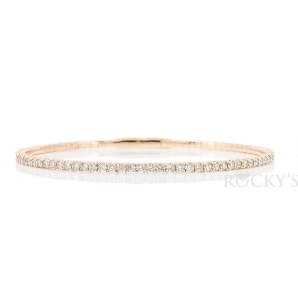 Women's Diamond Bracelet with 2.19 Carats