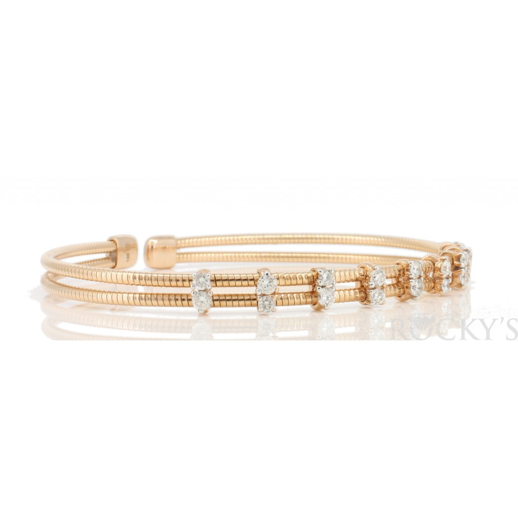 Women's Diamond Bracelet with 0.56 Carats