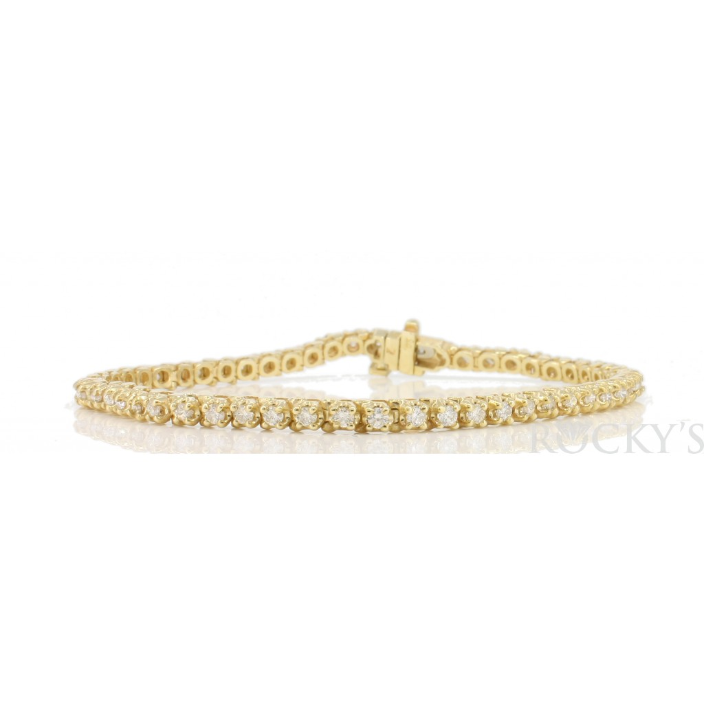 Women's Diamond Bracelet with 1.50 Carats