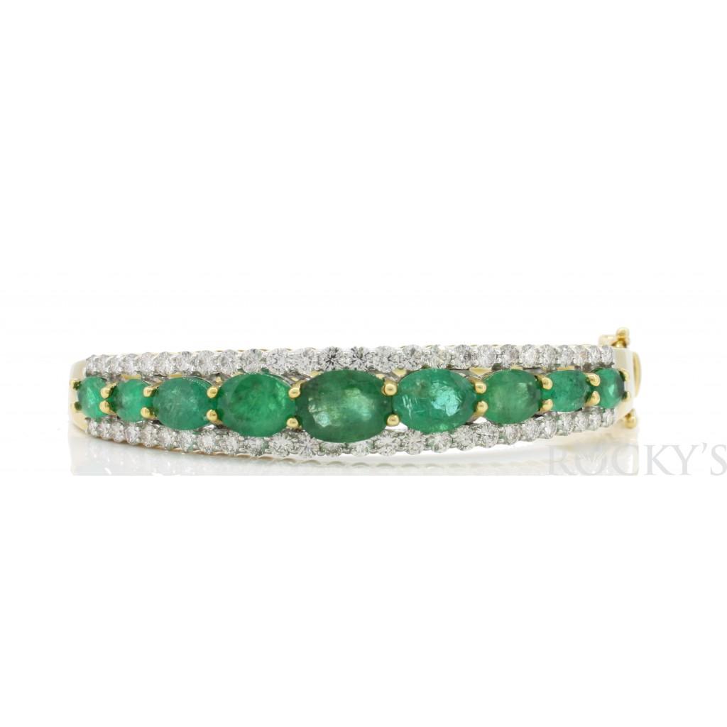 Emerald  Diamond Bracelet...