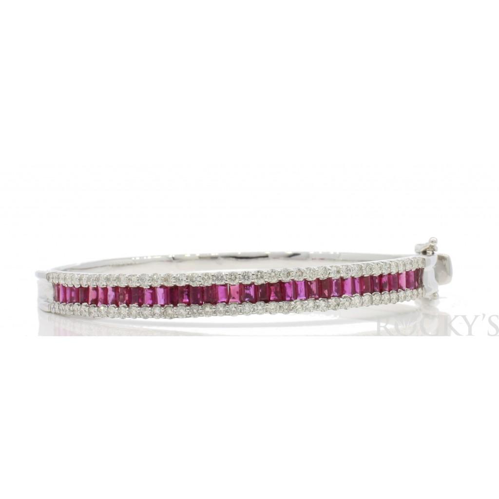 Ruby Diamond Bracelet with 4.09 Carats