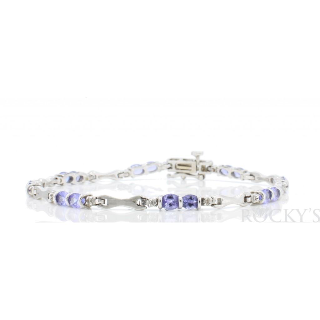 Tanzanite Diamond Bracelet...