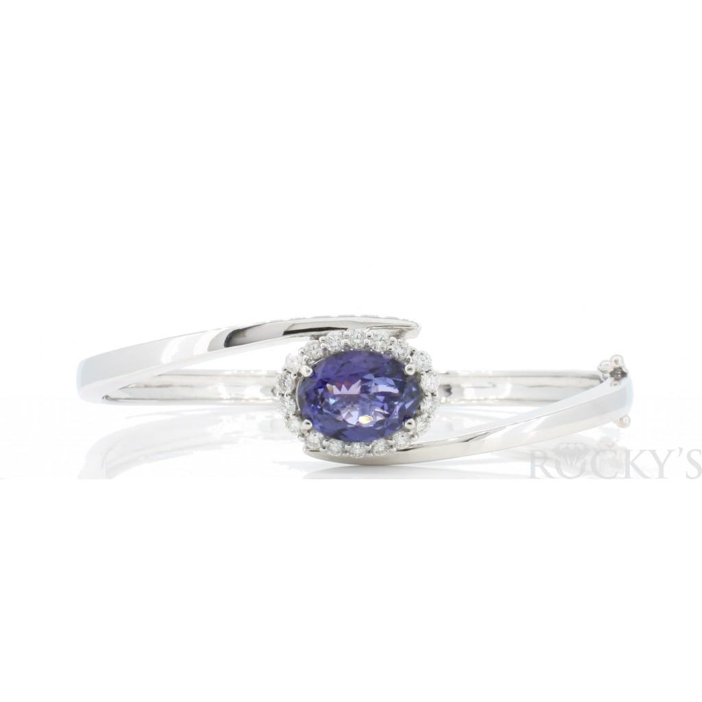 Tanzanite Diamond Bracelet with 4.33 Carats