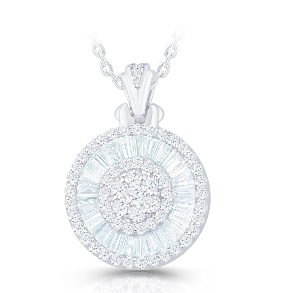 Women's Diamond Pendent with 1.03 Carats