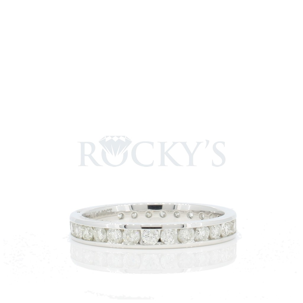 Diamond Eternity Band with 1.03 Carats