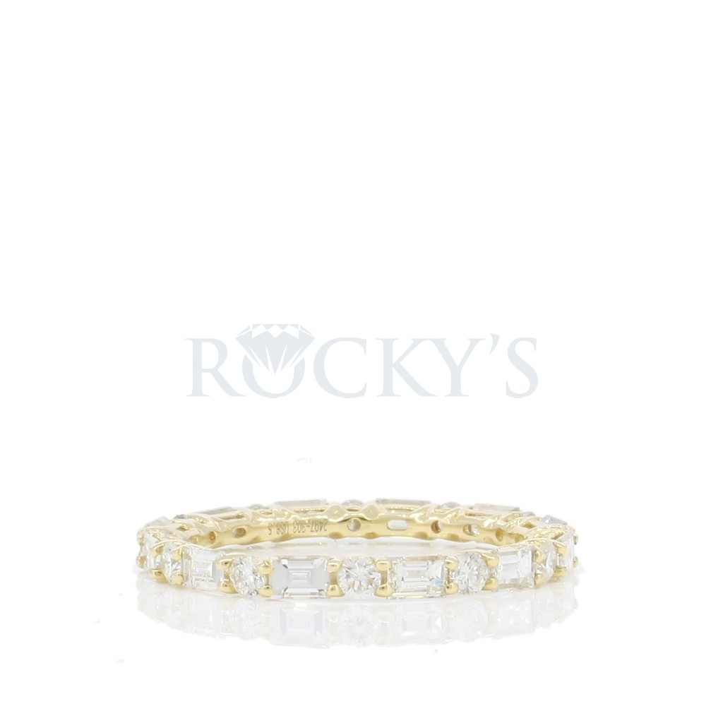 Diamond Eternity Band with 1.44 Carats
