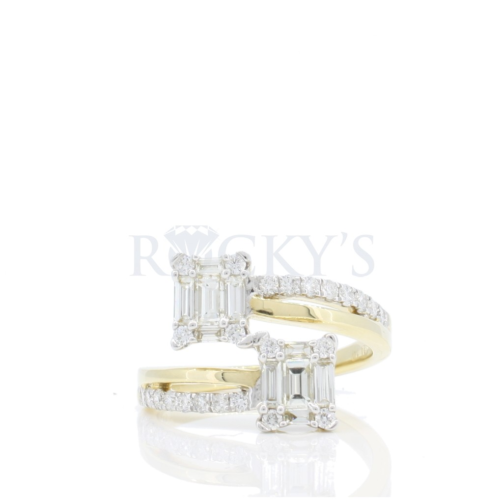 Baguette Diamond Ring with 1.07 carat