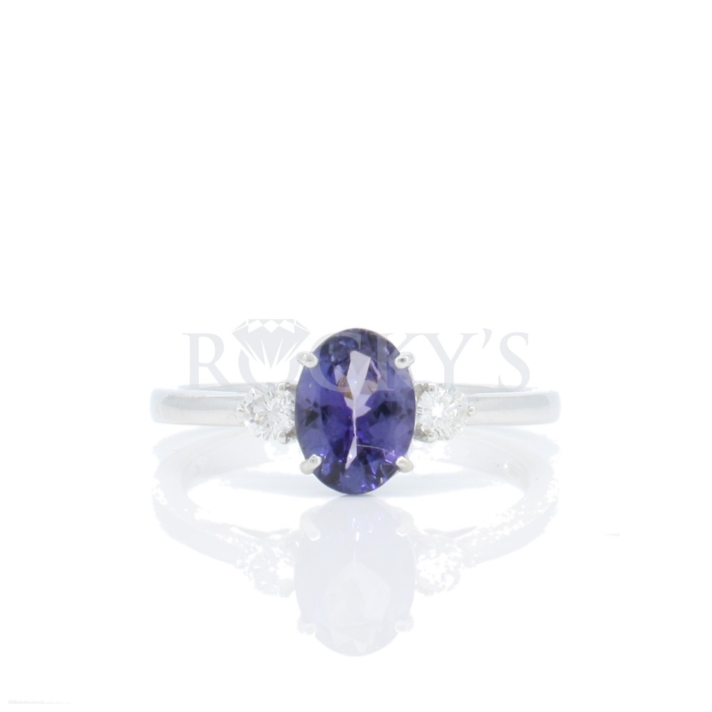 Tanzanite Ring with 1.15...