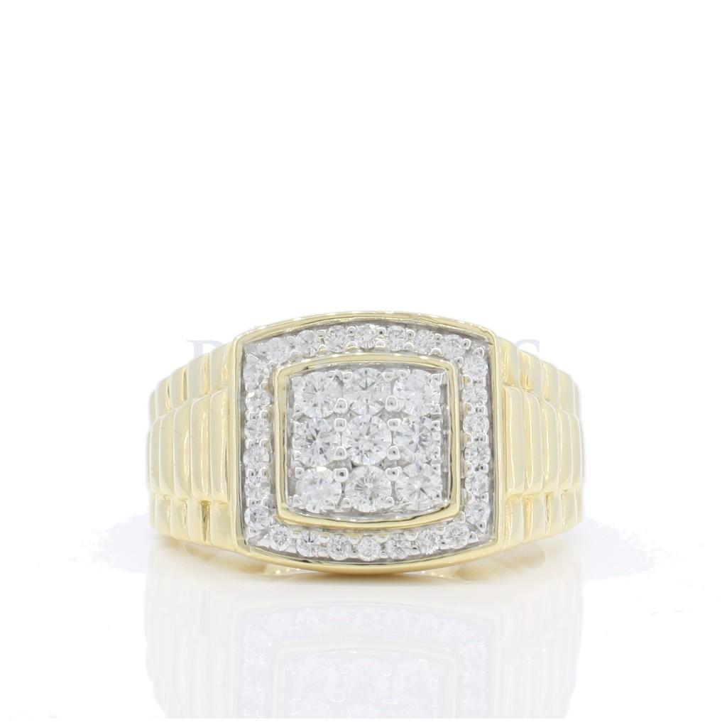 Men's Diamond Ring with...