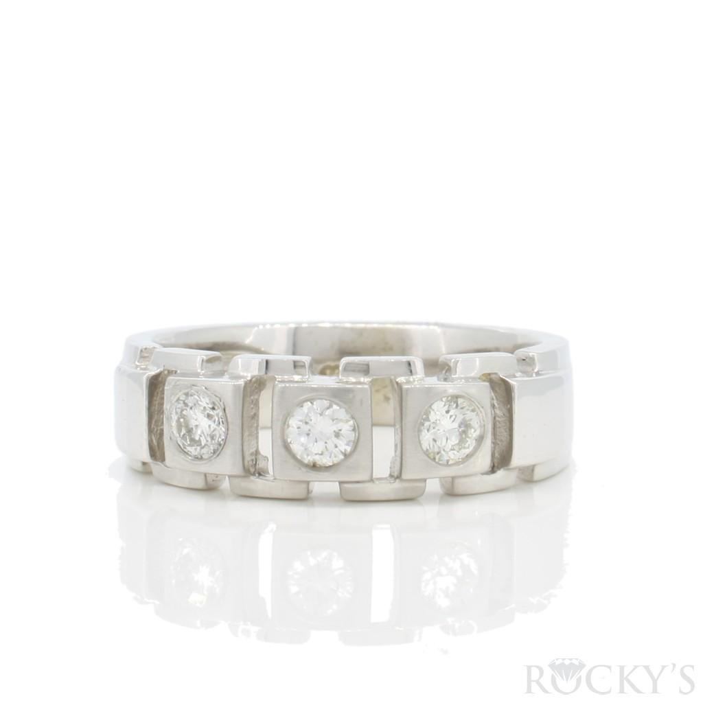 Men's Diamond Ring 0.45 carats