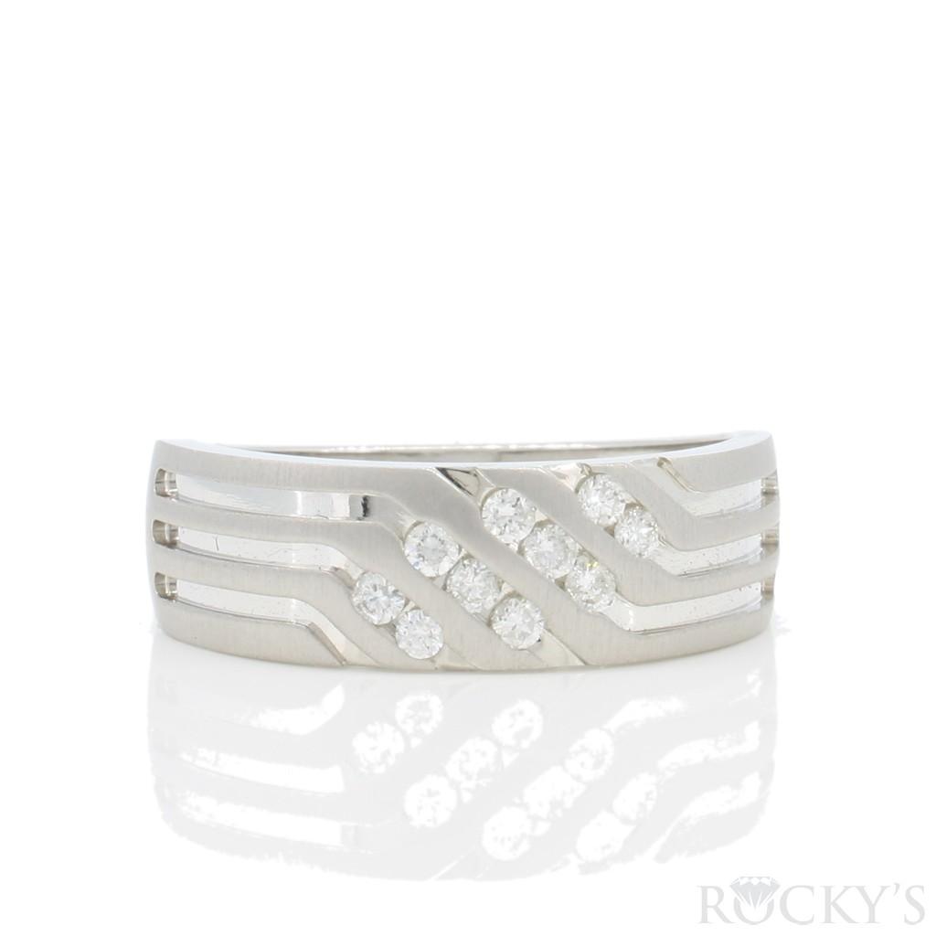 Men's Diamond Ring 0.25 carats