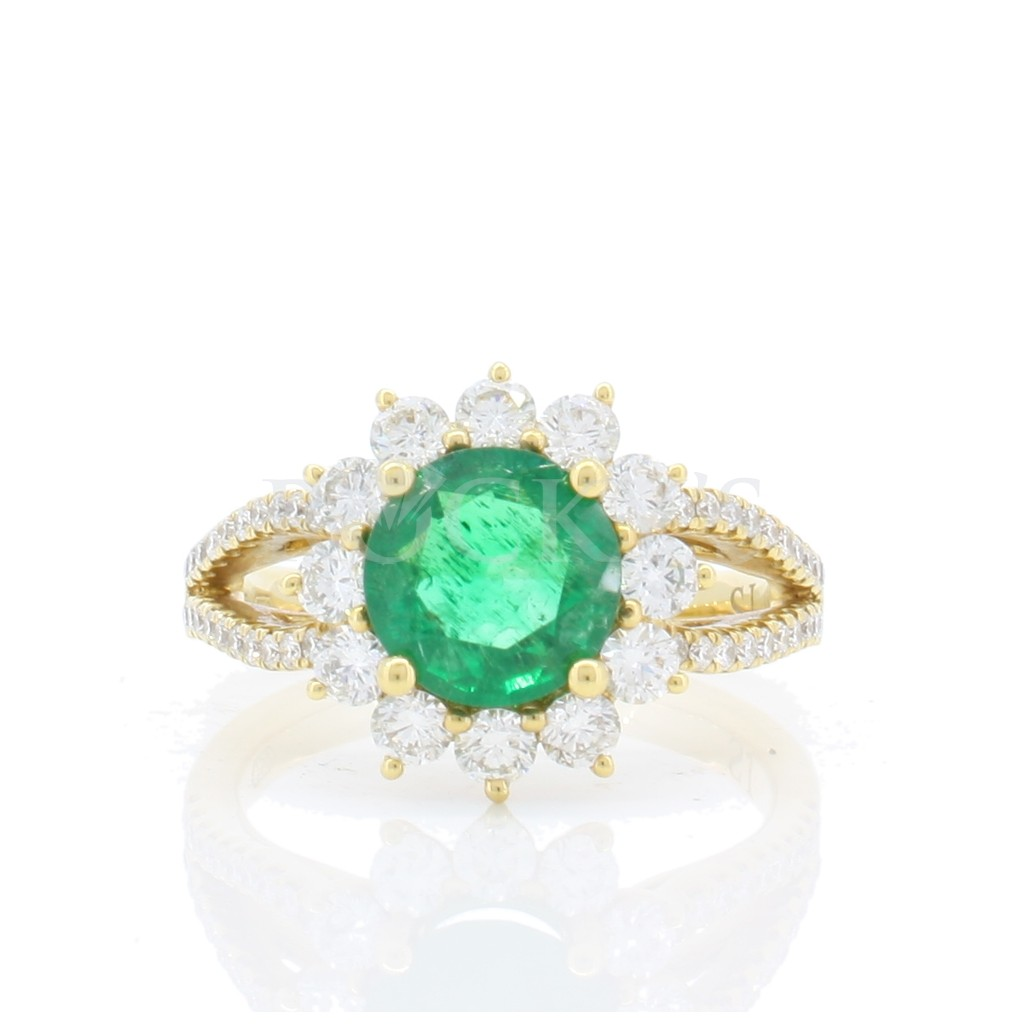 Emerald Ring with 2.24 Carats