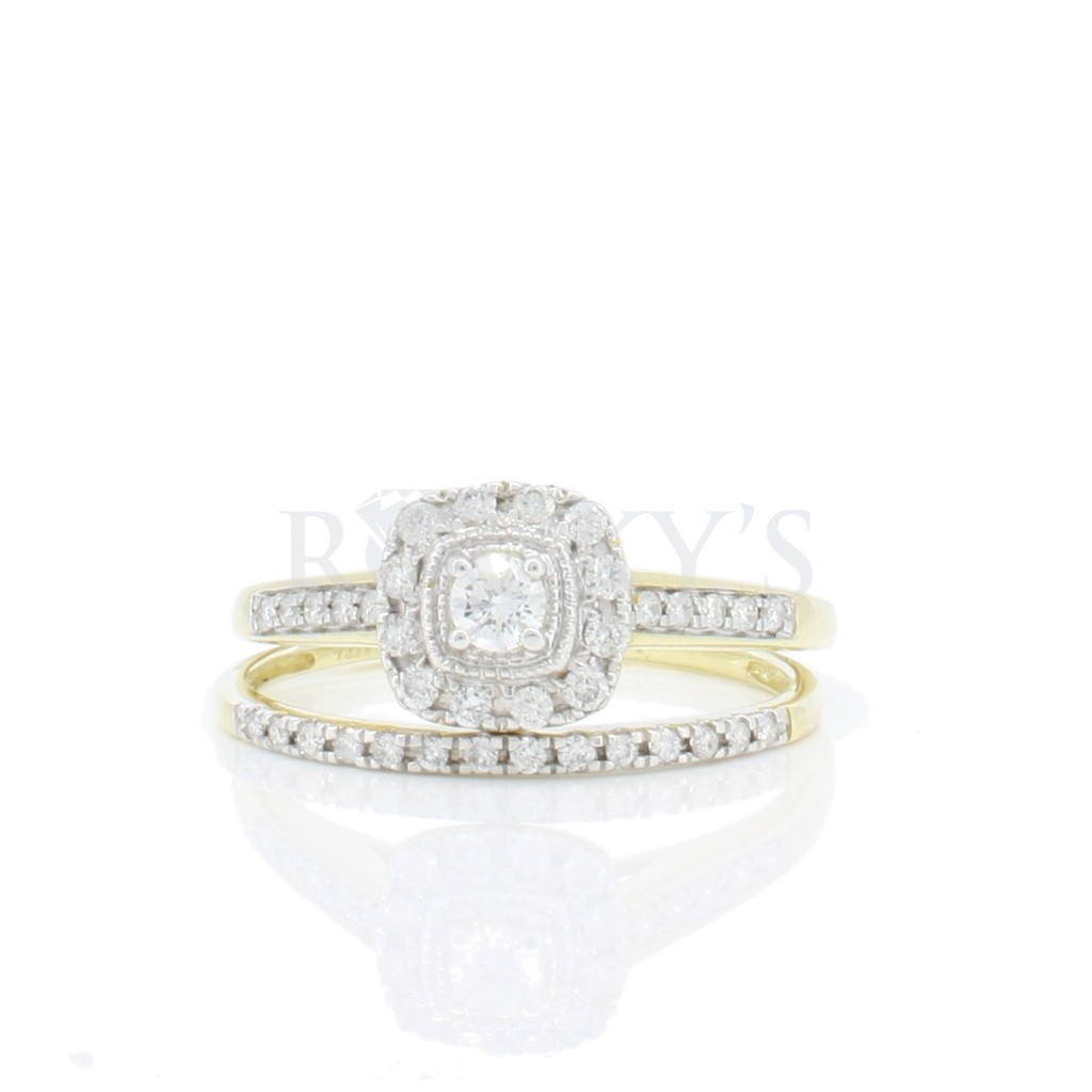 Engagement Ring with 0.33 carat