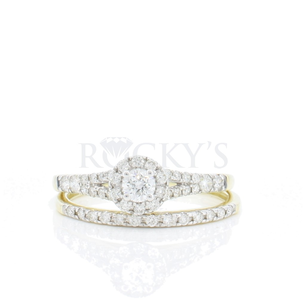 Engagement Ring with 0.47 Carats