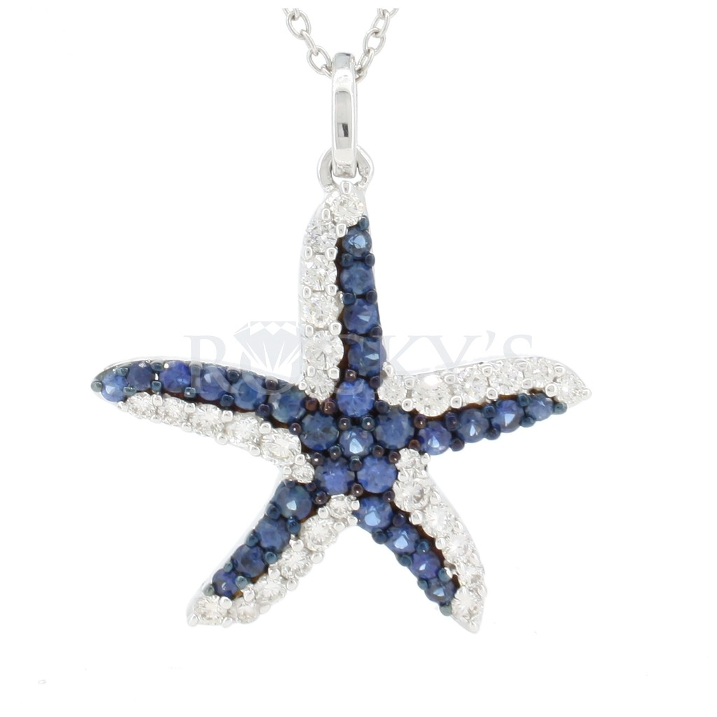 BLUE SAPPHIRE SEA LIFE COLLECTION - STARFISH