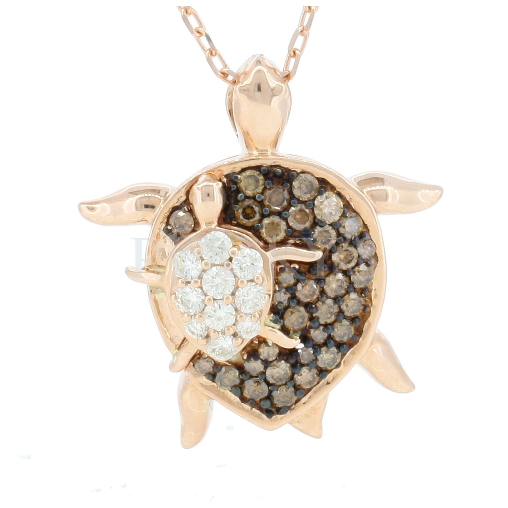 Brown Diamond Sea Life Collection - Turtle