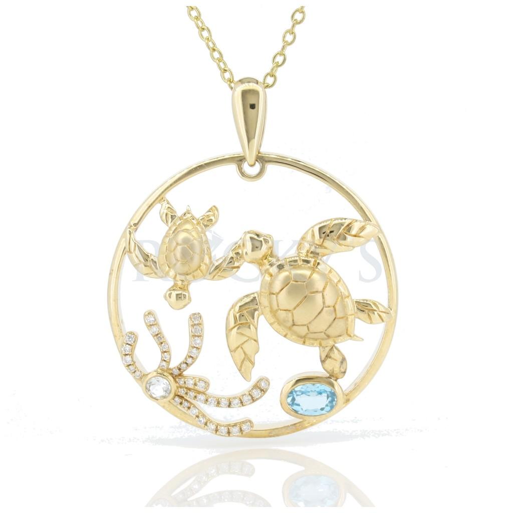 DIAMONDS SEA LIFE COLLECTION - TURTLES