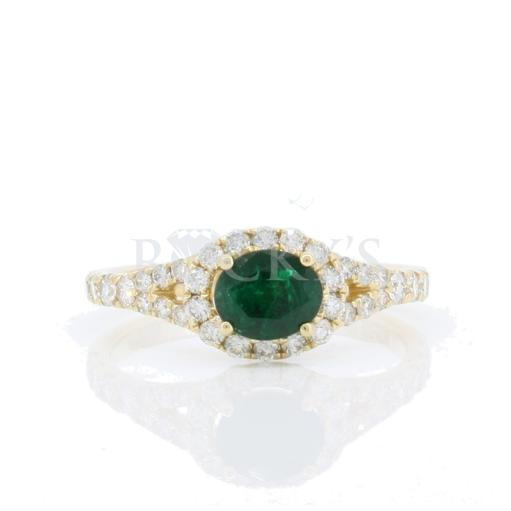 Emerald Ring with 1.06 Carats
