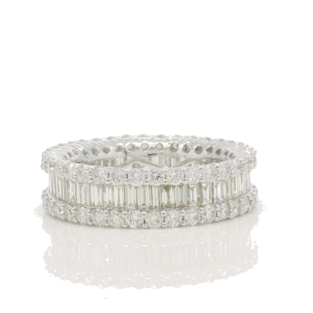 Eternity Band with 3.08 Carats