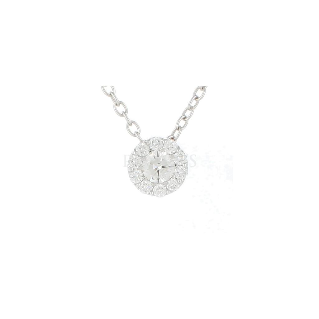 Diamond Pendant with 0.71 Carats