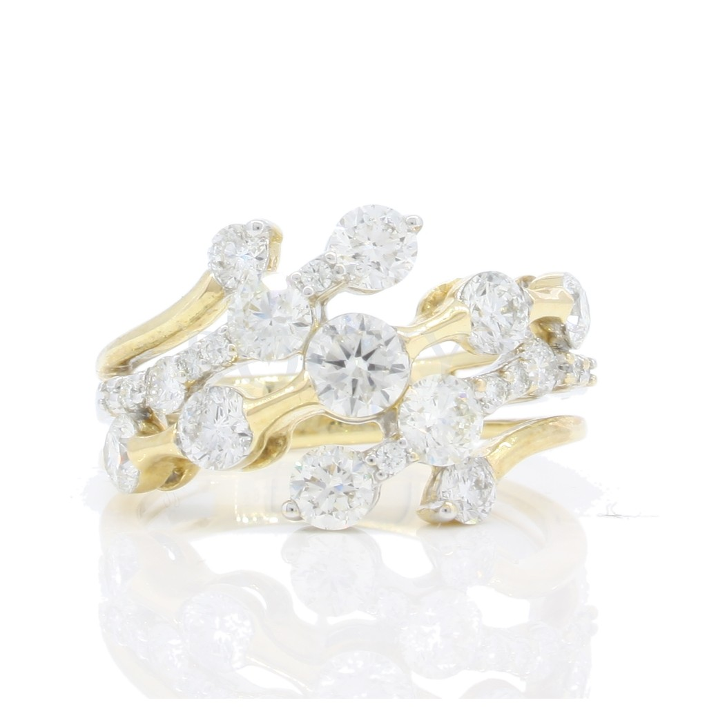 Diamond Ring with 2.13 Carats