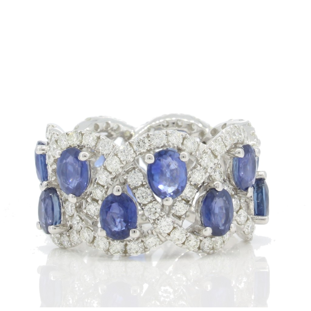 Sapphire Ring with 8.55 Carat